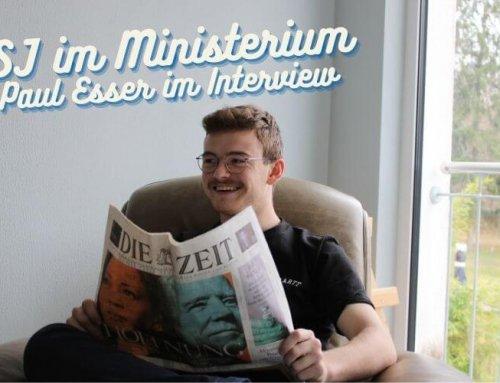 #38: FSJ im Ministerium – Interview mit dem Freiwilligen Paul Esser (FSJ Politik und Demokratie)