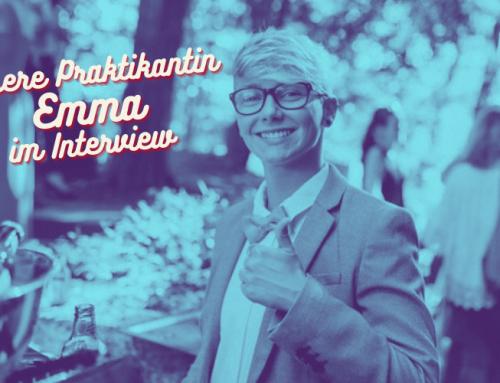 #39: Interview mit unserer Praktikantin Emma Dörr