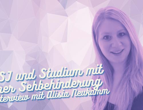 #48: FSJ und Studium mit einer Sehbehinderung – Interview mit Alisia Neukamm