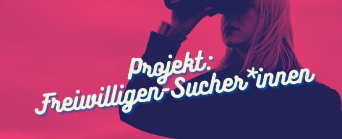 Das ProjektHier hörst du einen Podcast über die Freiwilligensucher*innen